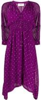 BA&SH Cyana leopard print dress