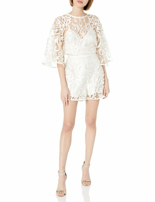 Finders Keepers findersKEEPERS Women's Alchemy Lace Long Sleeve Playsuit