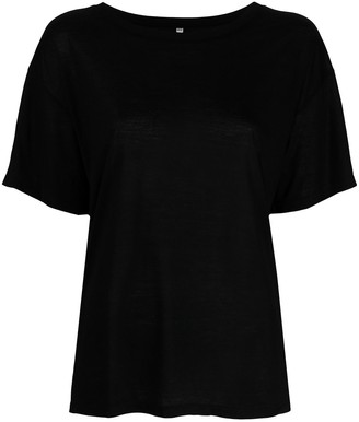 Base Range scoop-neck T-shirt