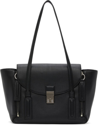 3.1 Phillip Lim Black Medium Pashli Satchel Tote