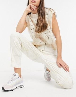 GUESS marble mom jeans in multi