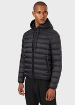 Emporio Armani Quilted Down Jacket With Hood
