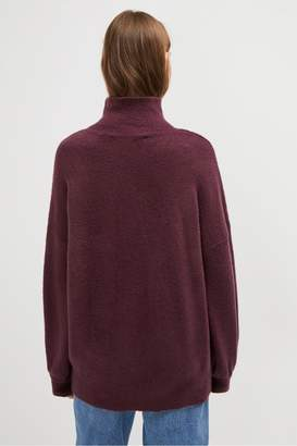 French Connection Normie Knit Balloon Sleeve Jumper