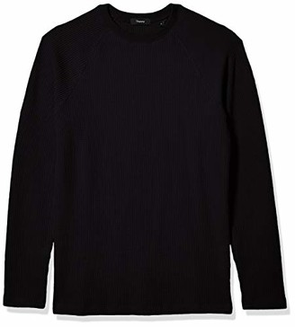 Theory Men's River Stretch Cotton Long Sleeve T-Shirt
