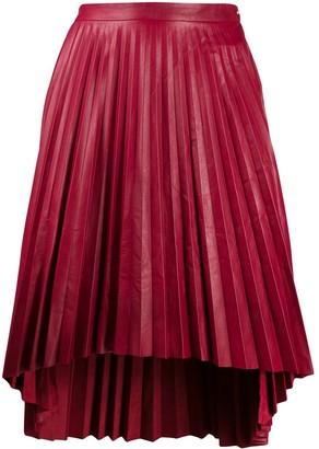 Isaac Sellam Experience Pleated Midi Skirt