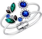 GUESS Geometric Crystal Cuff Bracelet