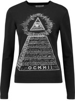 Opening Ceremony Embroidered Cotton Sweater