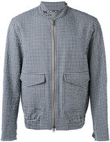 Fay gingham jacket - men - Cotton/Lyocell/Polyimide - M