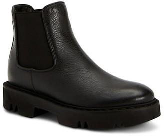 Aquatalia Haylie Leather Chelsea Boots