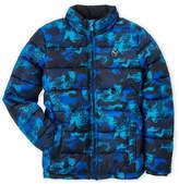 Puma Boys 8-20) Digital Camouflage Puffer Jacket