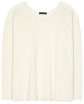 The Row Grisa cotton and silk-blend sweater