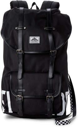 Steve Madden Black Logo Utility Backpack