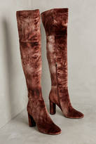 Silent D Ombre Velvet Over-The-Knee Boots