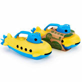 Asstd National Brand Green Toys Submarine Blue Cabin Accessory