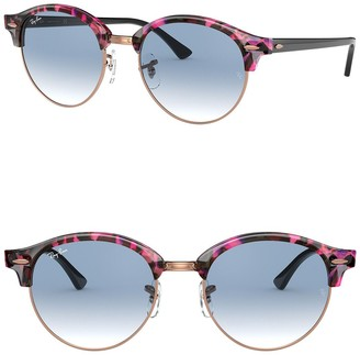 Ray-Ban 53mm Round Phantos Sunglasses