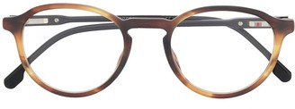 Carrera Tortoise-Shell Round Glasses