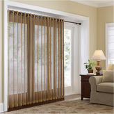 JCPenney JCP Home Collection HomeTM Naples Grommet-Top Bamboo Panel