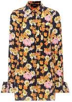 Joseph Cassidy floral-printed silk shirt