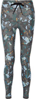 The Upside Masquerade Printed Stretch Leggings - Gray