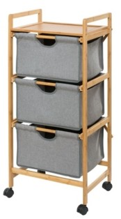 Wenko Trolley Bahari With 3 Drawers