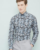 Ted Baker Floral paisley cotton shirt