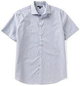 Murano Short-Sleeve Spread Collar Square Sportshirt
