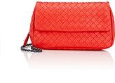 Bottega Veneta Women's Intrecciato Mini Messenger Bag-RED