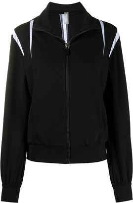 NO KA 'OI Zip-Up Monochrome Track Jacket