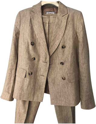 Cappellini Beige Linen Jacket for Women