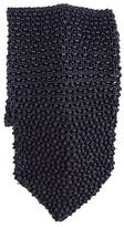 Black Savoca Knitted Silk Tie