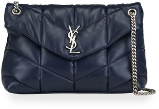 Saint Laurent Loulou Medium Flap Shoulder Bag