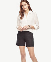 Ann Taylor Cotton Mid Shorts
