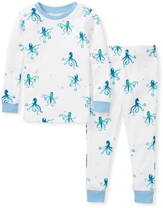 Burt's Bees Tentacular Snug Fit Organic Baby Octopus Pajamas