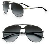 Dolce & Gabbana Metal Aviator Sunglasses