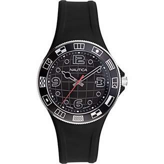 Nautica Men's NAPLBS904 Lummus Beach Silicone Strap Watch