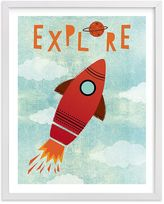 Pottery Barn Kids Explore Your World Art by Minted(R) 11x14