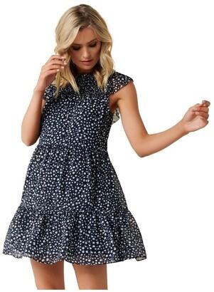 Forever New Rikki Shirred Smock Dress