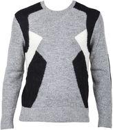 Neil Barrett Grey Sweater