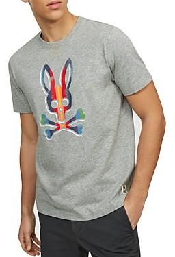 Psycho Bunny Pima Logo Graphic Tee