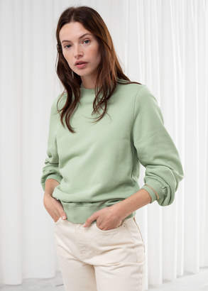 And other stories Relaxed Organic Terry Cotton Sweater