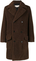 Marni Teddy bear double-breasted coat - men - Cotton/Wool - 46