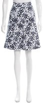 MICHAEL Michael Kors Floral Print Knee-Length Skirt w/ Tags
