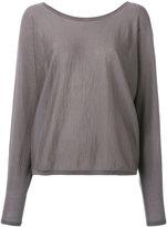 N.Peal cashmere super fine batwing jumper - women - Cashmere - S