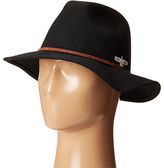 San Diego Hat Company SDH3005 Pinched Crown Fedora Hat with Stitched Pattern