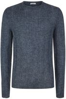 Valentino Ribbed Mohair Blend Sweater