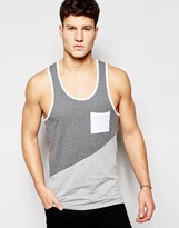 Another Influence Colour Block Vest