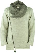 virblatt men's lined wool jacket with collar S-XL wool coat-AnapurnaLw