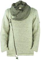 virblatt men's lined wool jacket with large collar S-XL wool coat-AnapurnaMw