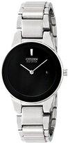 Citizen Eco-Drive Women's GA1050-51E Axiom Analog Display Silver Watch