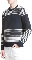 Moncler Men's Maglione Stripe Wool & Cashmere Sweater